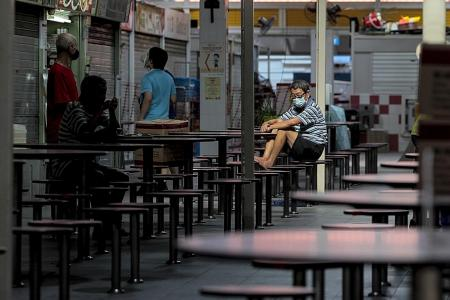 Life slows in Toa Payoh as Covid-19 clusters keep crowds away