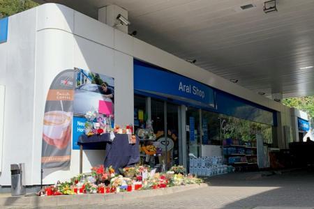Shock after German petrol station worker is shot dead over mask row