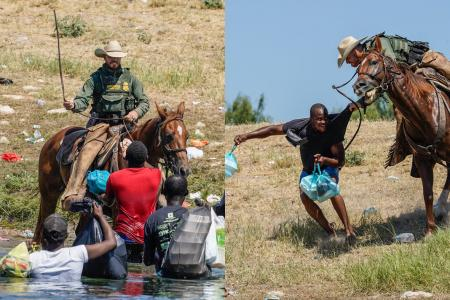 White House slams use of horse reins to threaten Haitian migrants