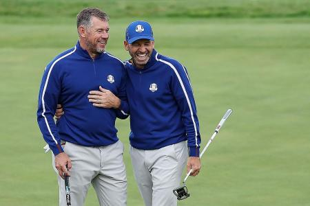 Europeans aim to make experience count at Ryder Cup