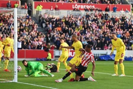 Klopp: Brentford deserve every goal they scored in 3-3 draw