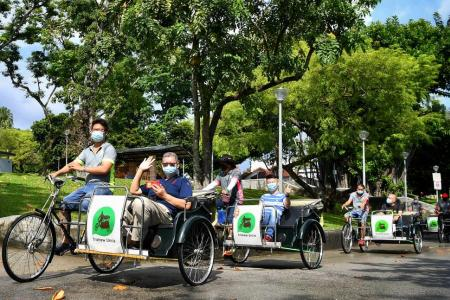 Three new heritage trails launched in Sembawang