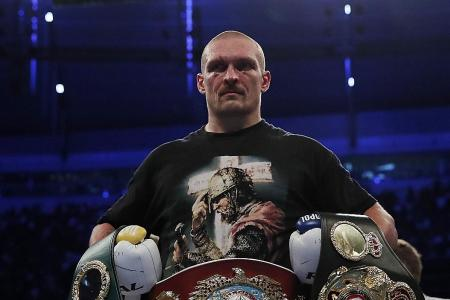 Usyk thwarts heavyweight champ Joshua, who vows to fight back