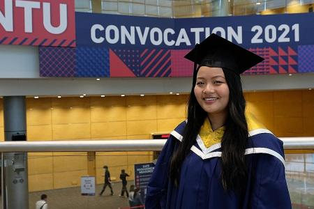 New NTU graduates overcome obstacles to reach greater heights