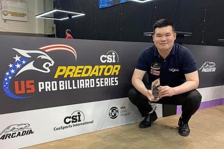 Singaporean pool player Aloysius Yapp 'unlocks' a new level