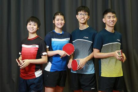 Next generation of Singapore paddlers to the fore