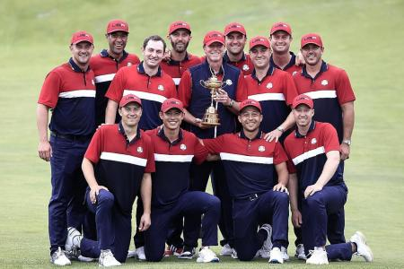 Ryder Cup win augurs well for young US team