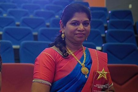 Tamil teacher who gets students to produce newsletter lauded