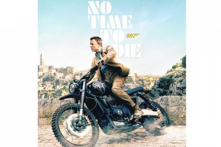 Bond's bikes in No Time To Die will leave you shaken and stirred