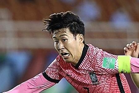 Son Heung-min strikes late to help South Korea beat Syria
