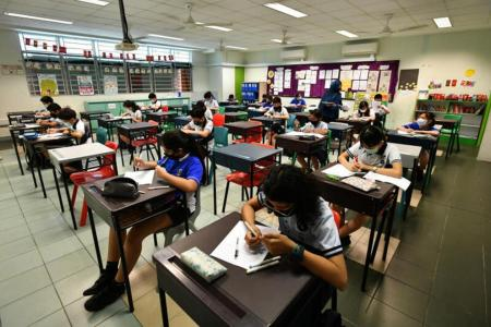 Year-end exams for P3 and P4 pupils cancelled