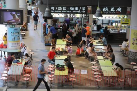 From Oct 13, unvaccinated people can no longer eat at hawker centres, enter malls