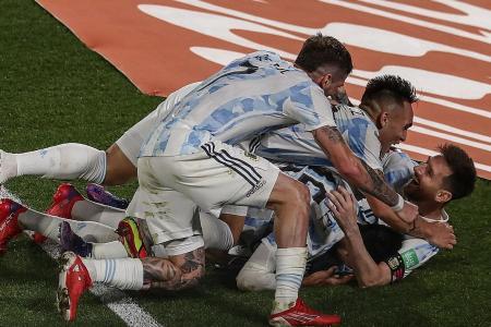 Lautaro Martinez hails effect of Argentina's Copa America win