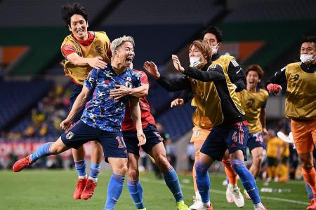 Japan beat Australia with late own goal