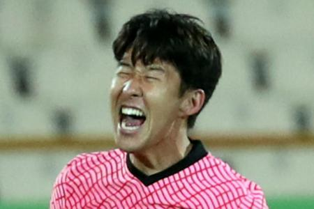 Son Heung-min scores, but South Korea are held by Iran