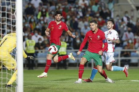 Ronaldo wants more after scoring 58th hat-trick