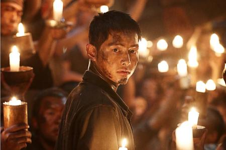 Song Joong-ki starred as an operative for the Korean independence movement who has been sent to Hashima on a covert mission.