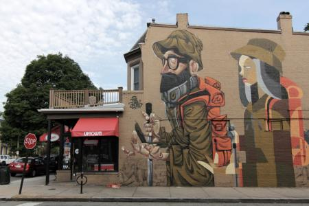 The Migration, Richmond Mural Project, Richmond, Virginia, USA, 2015