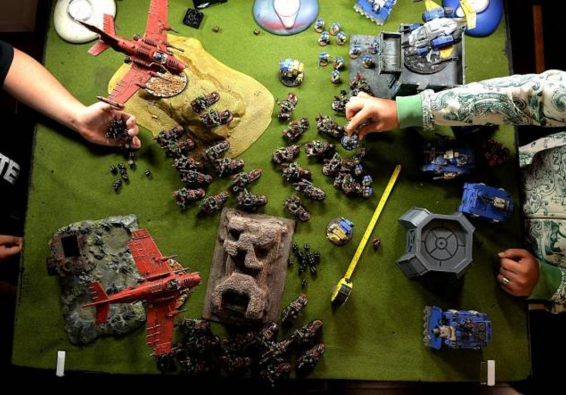 Player spent $60,000 customising his army for Warhammer 40K game