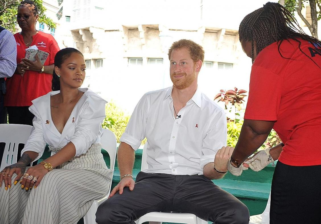 Rihanna, Prince Harry trade gibes as they get jabs Shayk pregnant with Bradley Cooper's child