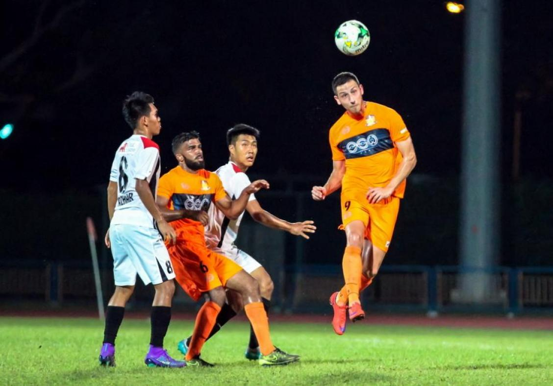 Hougang coach Aw ready for clash with former employers