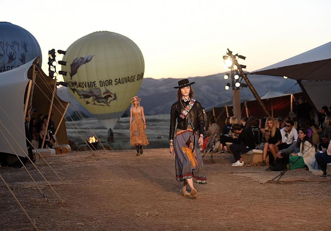 Festival vibes for Dior's Cruise collection