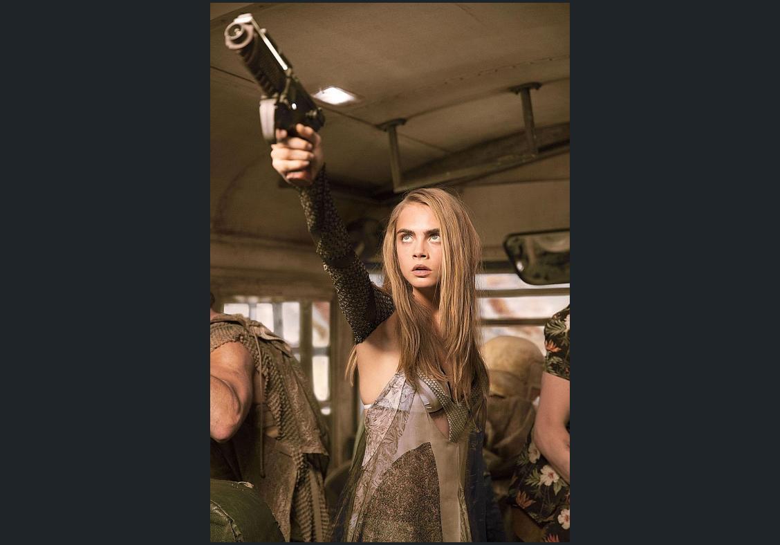 Cara Delevingne gets big break in big-budget Valerian