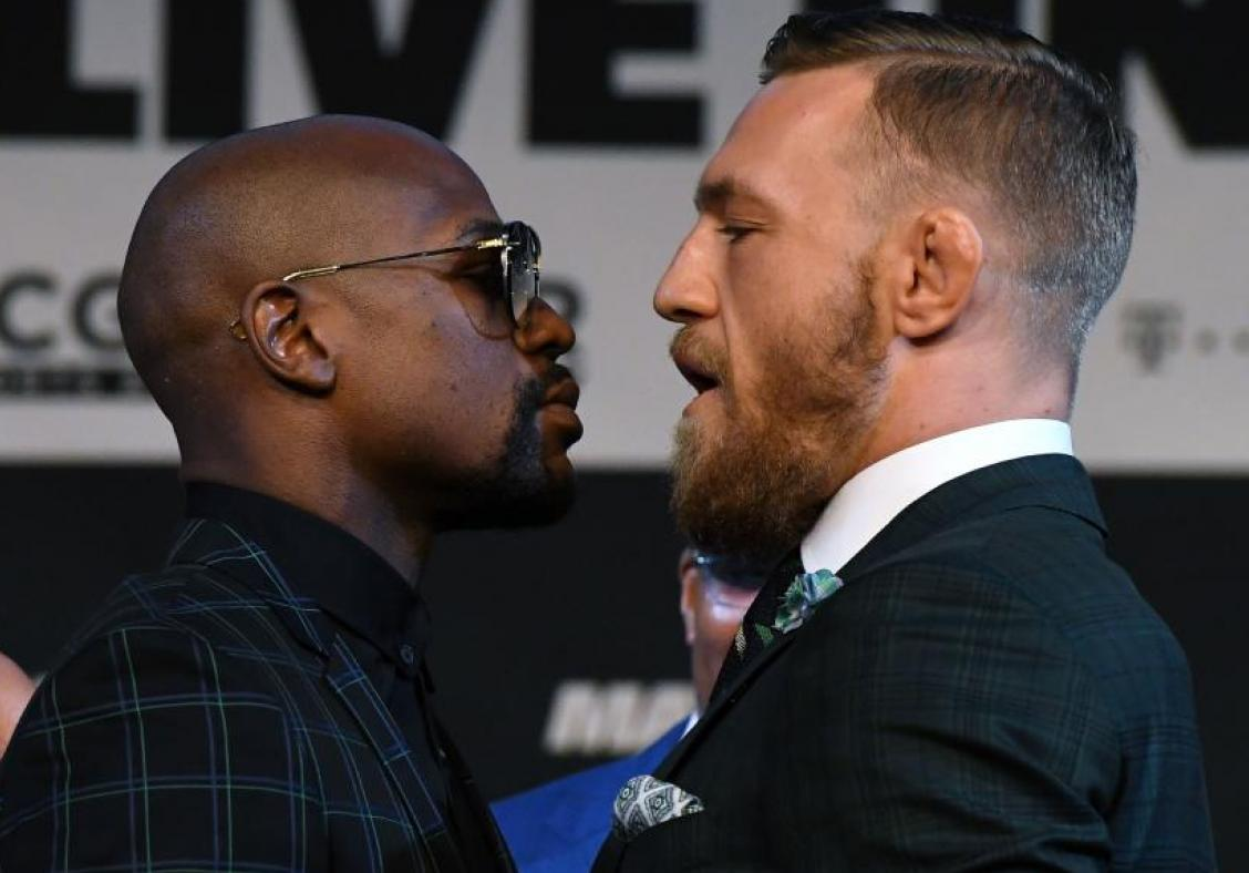 More verbal blows between Floyd Mayweather and Conor McGregor before the real show