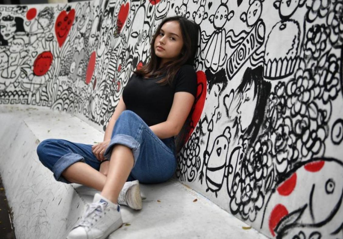 Teens with big following on social media