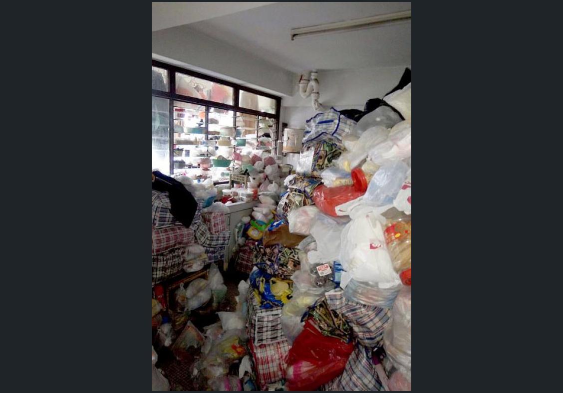 Condo hoarding so bad elderly woman had no space to lie down