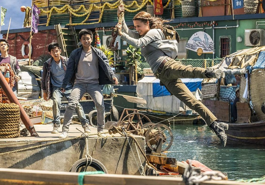 Training for Tomb Raider was 'empowering', says Vikander