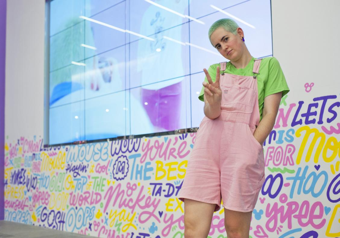 Uniqlo gives Mickey Mouse a street makeover with Kate Moross' designs