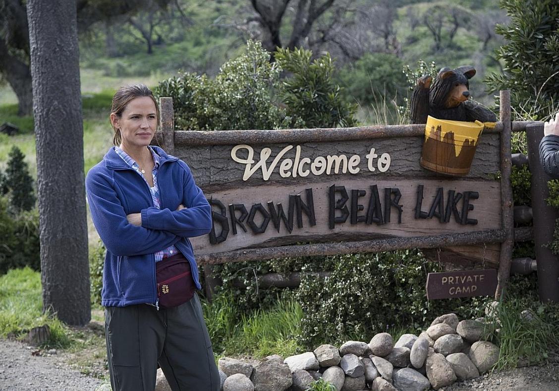 Jennifer returns to TV in Camping