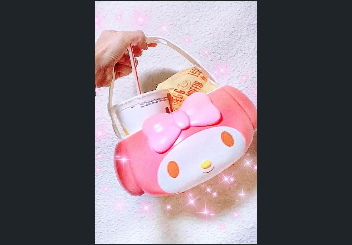 Sanrio's My Melody holders sold out at McDonald's