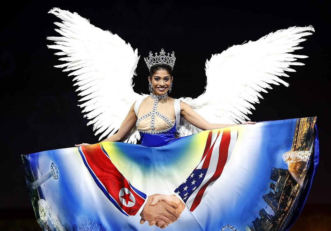 Miss Universe Singapore unfazed by national costume backlash