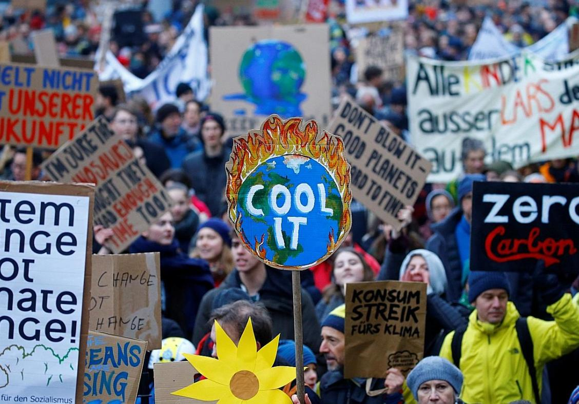 Climate change seen as top threat: International poll