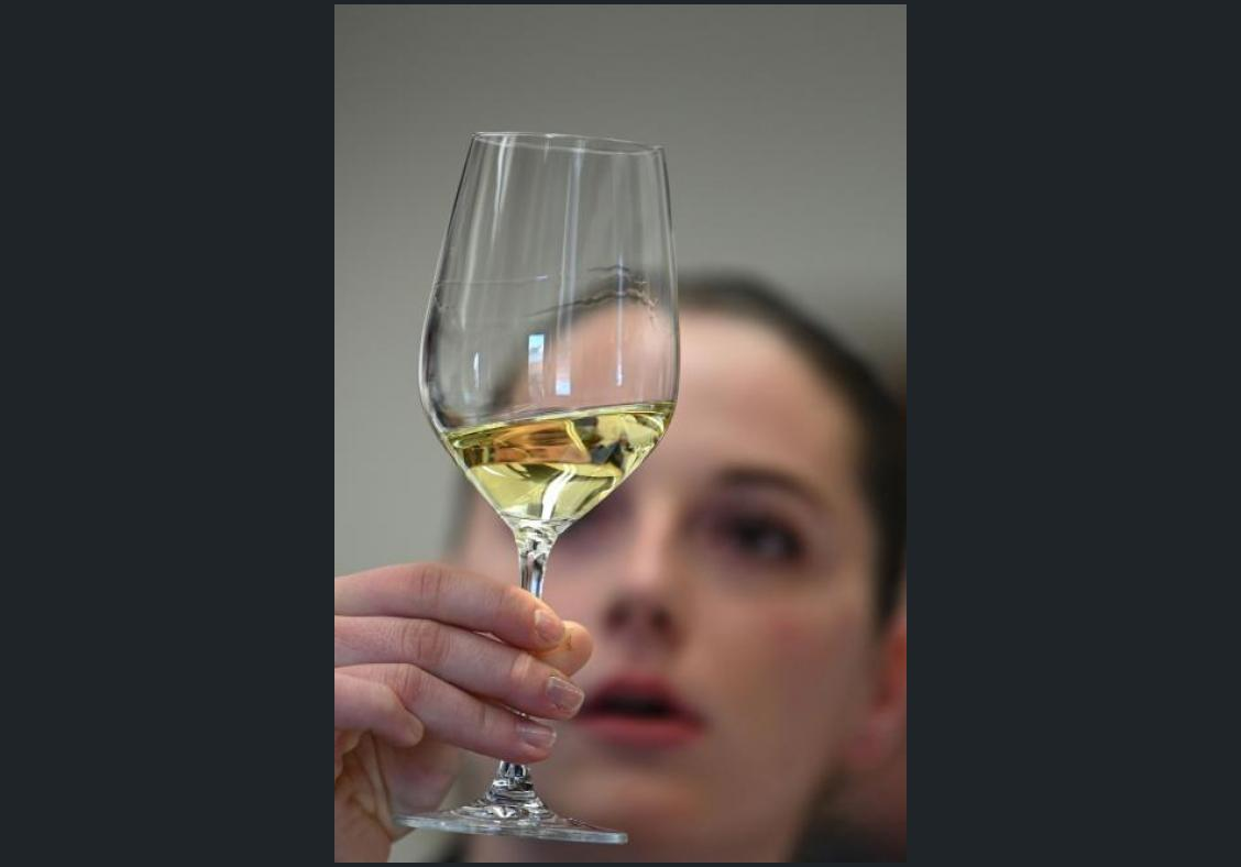 Tasting wine like an expert