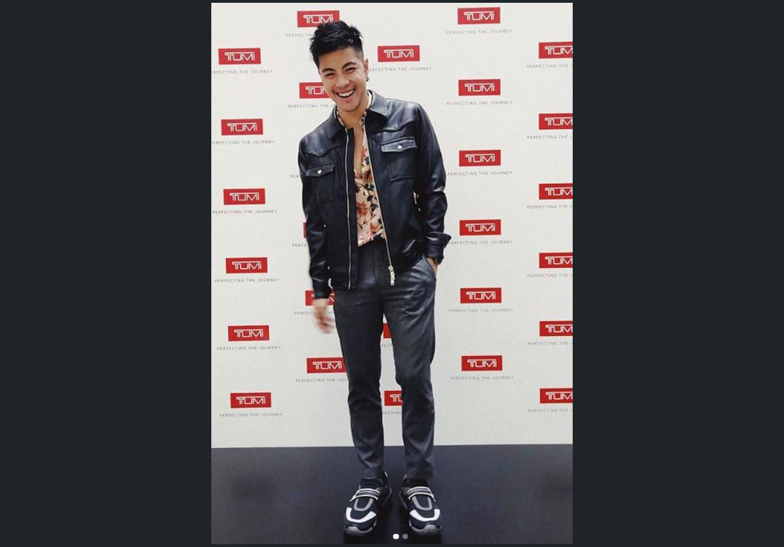 Benjamin Kheng goes for boldness in his style