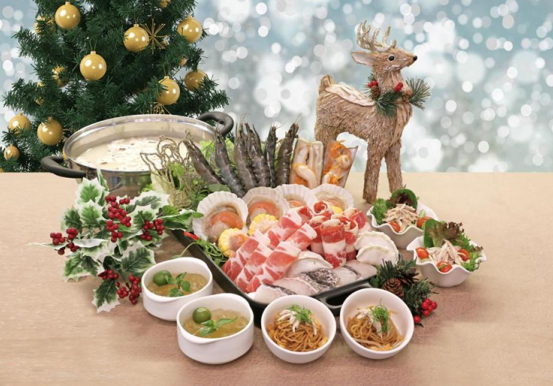 Christmas cheer and feasts