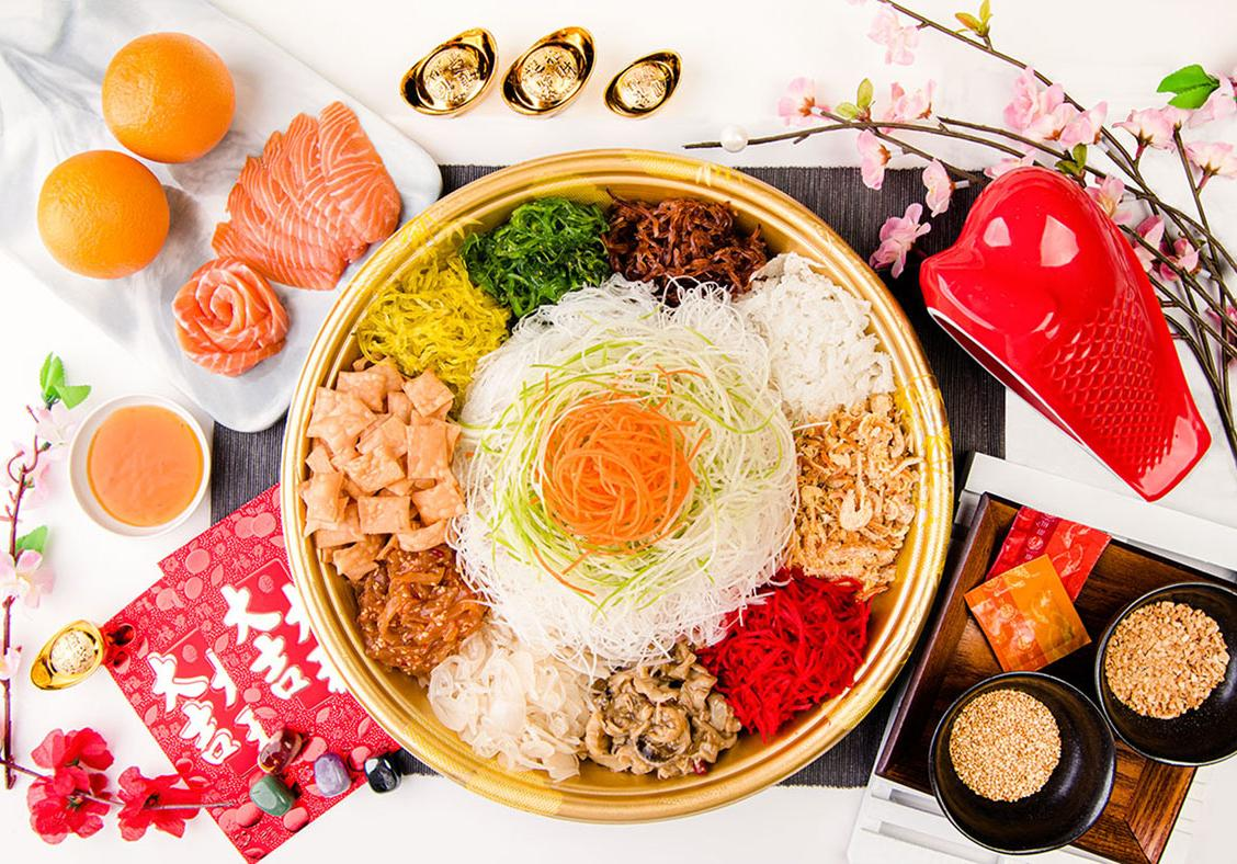 Toss your way to success with yusheng sets from FairPrice
