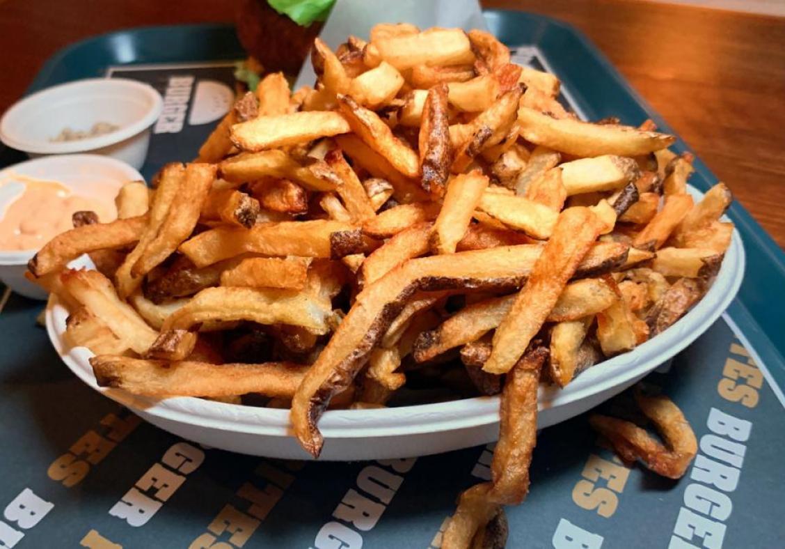 Burger Frites' vegetarian option is a winner