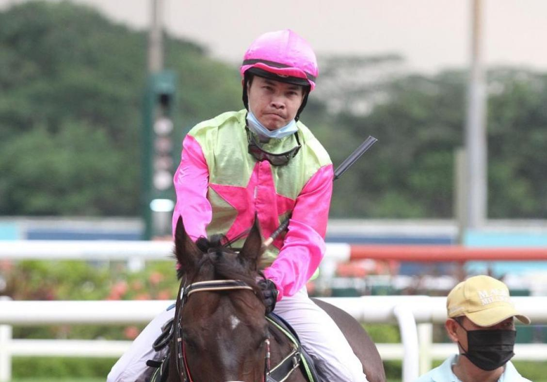 Trainer Khoo's faith in  'lucky' Koh pays off