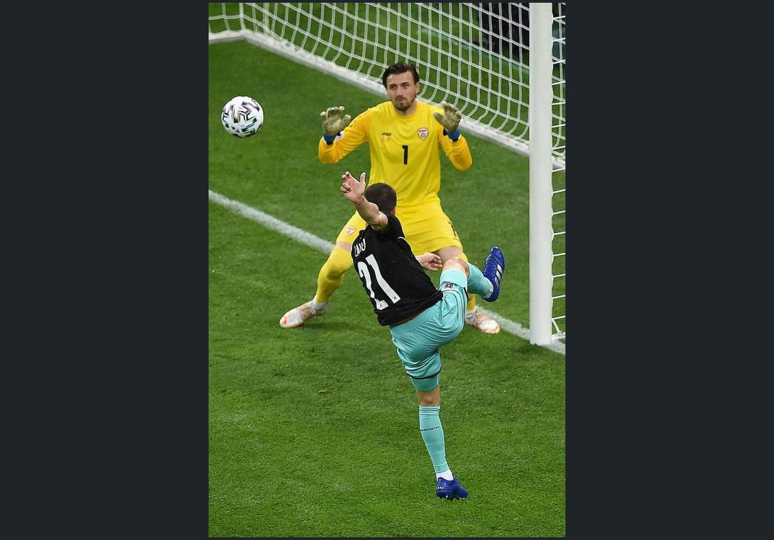 Late Austria goals deny North Macedonia dream debut