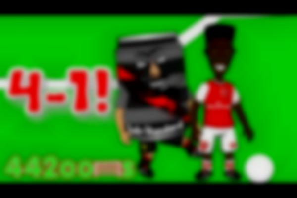 ⚽️Arsenal FC 4-1 v Liverpool FC!⚽️ Cartoon Highlights/Goals (Bellerin Sanchez Ozil Can red card)
