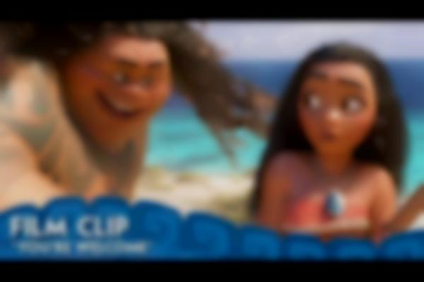 """""""You're Welcome"""" Clip - Moana"""