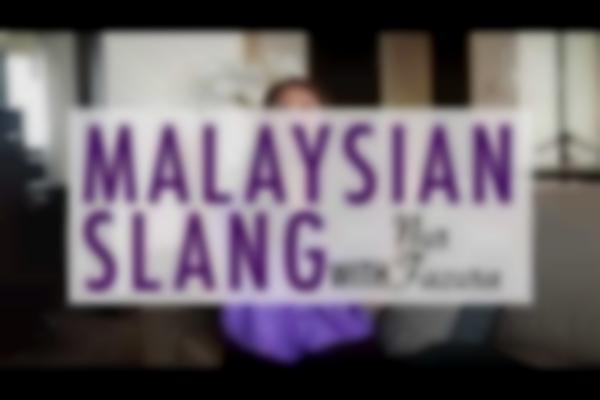 Malaysian Slang with Nur Fazura