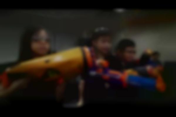 """""""I Wish to Have a Nerf War Party!"""" - Raphael"""