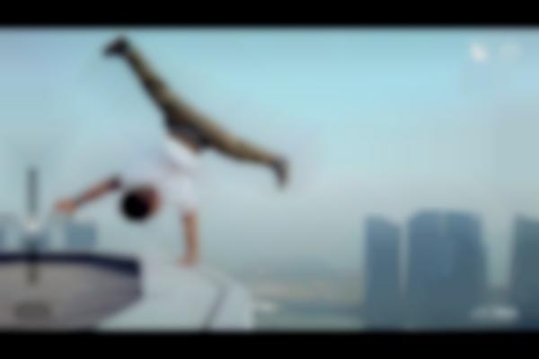 세상에서 가장 아찔한 고공 비보잉 _ 2014 세계 챔피언 갬블러 크루 ( 박인수 , 신규상 , 김기수 ) - Gamblerz Crew