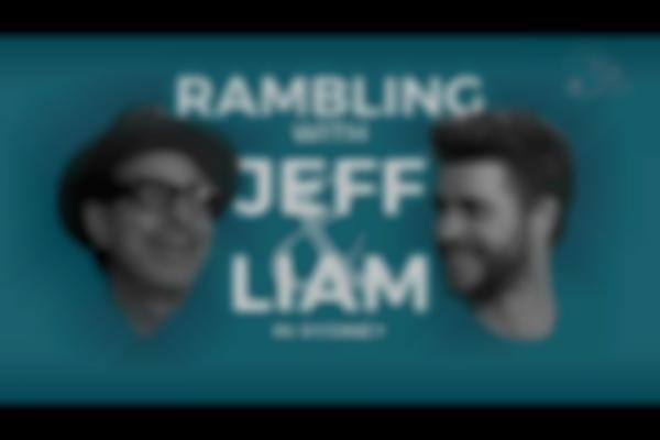 Rambling with Jeff Goldblum and Liam Hemsworth