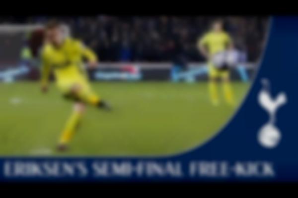 Christian Eriksen's Stunning Free-Kick   Sheffield United 2-2 Spurs